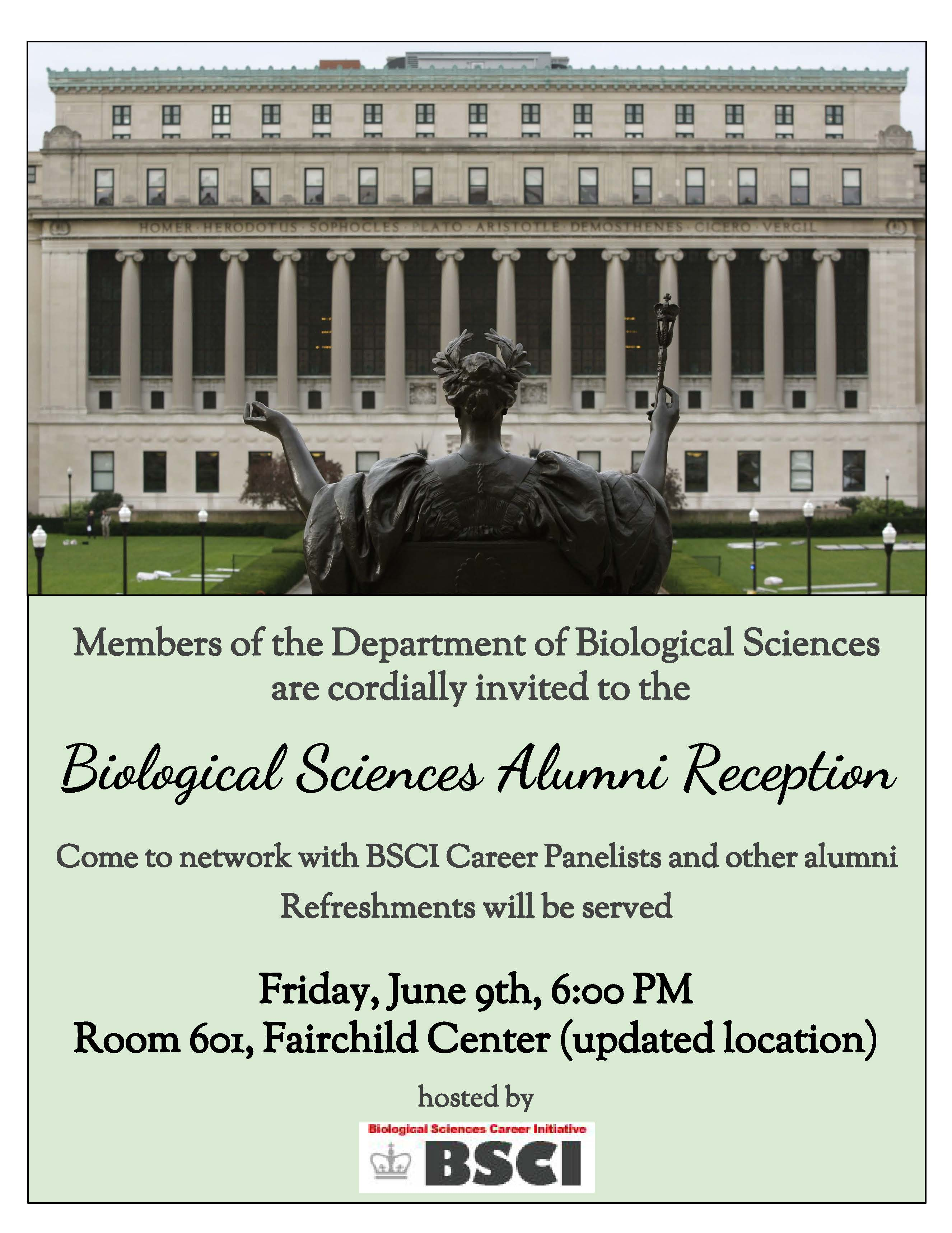 BSCI event poster
