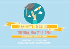 Class day reception poster